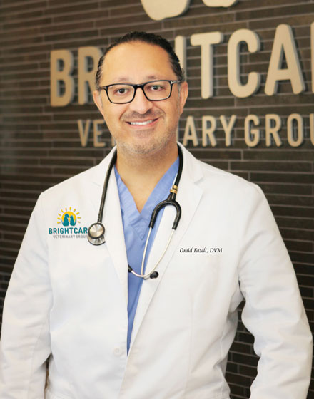 Dr. Omid Fazeli - Bright Care Animal ER